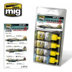 VVS RUSSIAN WWII BOMBER COLORS   AIR SET  REF7224