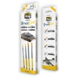STARTER BRUSH SET 4 PINCEAUX                 7602