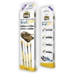 STREAKING & VERTICAL SURFACES BRUS SET X 4   7604