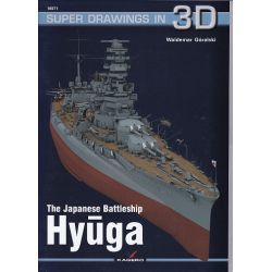 THE JAPANESE BATTLESHIP HYUGA SUPERDRAWINGS IN 3D
