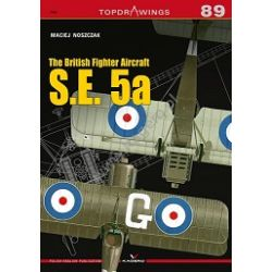 BRITISH FIGHTER AIRCRAFT S.E.5A     TOPDRAWINGS 89