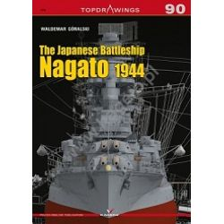 THE JAPANESE BATTLESHIP NAGATO 1944-TOPDRAWINGS 90