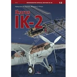 IKARUS IK-2       MONOGRAPHS SPECIAL EDITION 3D 13