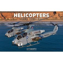 HELICOPTERS SPARTA CALENDARS 2021