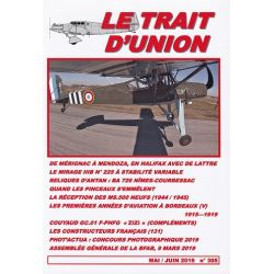 LE TRAIT D'UNION 305               MAI/JUIN 2019