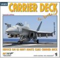 CARRIER DECK IN DETAIL-SERVICE ON USS NIMITZ CLASS
