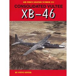 CONSOLIDATED VULTEE XB-46  AIR FORCE LEGEND 221