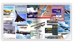 Les grandes collections de livres sur l'aviation