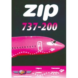 ZIP BOEING 737-200                         WAR DVD