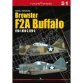 BREWSTER F2A BUFFALO        TOP DRAWING Nø51