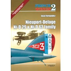 NIEUPORT DELAGE 29 & 62          FRENCH WINGS NO.2