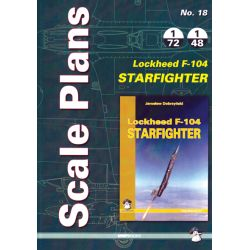 F-104 STARFIGHTER          SCALE PLANS 1/72 & 1/48