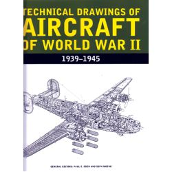 TECHNICAL DRAWINGS OF AIRCRAFT OF WWII