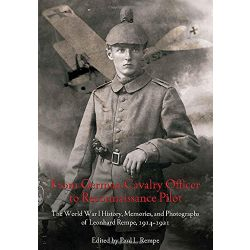 FROM GERMAN CAVALRY OFFICER TO RECO. PILOT  ED. SB