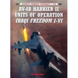 AV-8B HARRIER II UNITS OF OPERATION IRAQI FREEDOM