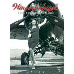 WINGS OF ANGELS T2 TRIBUTE TO WWII PIN UP