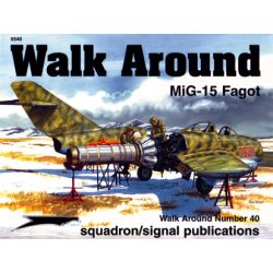 MIG-15                            WALK AROUND 5540